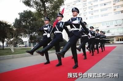 迎接第一个人民警察节,河南公安首次升起人民警察警旗