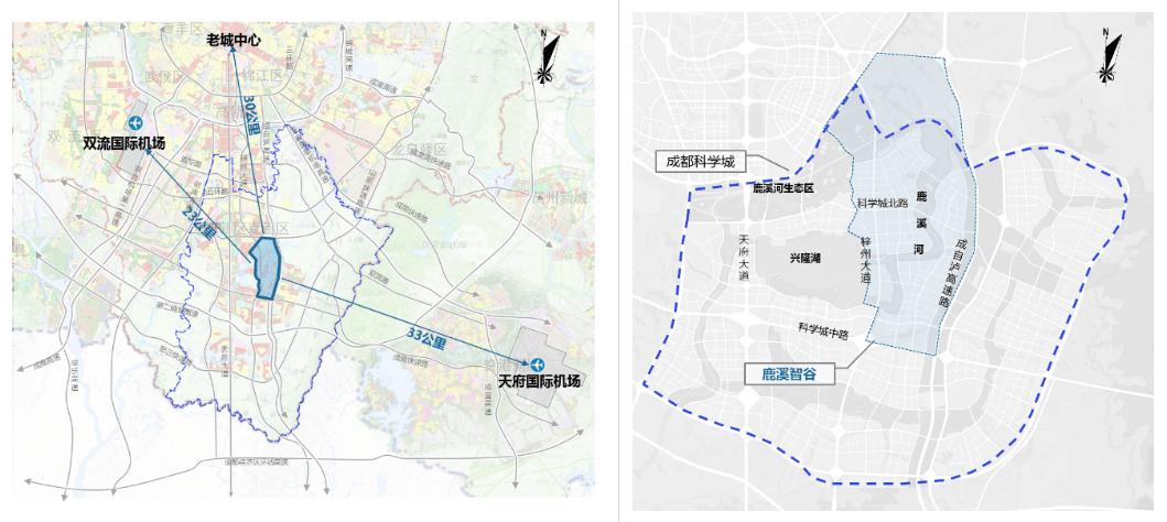 鹿溪智谷公园城市示范区规划