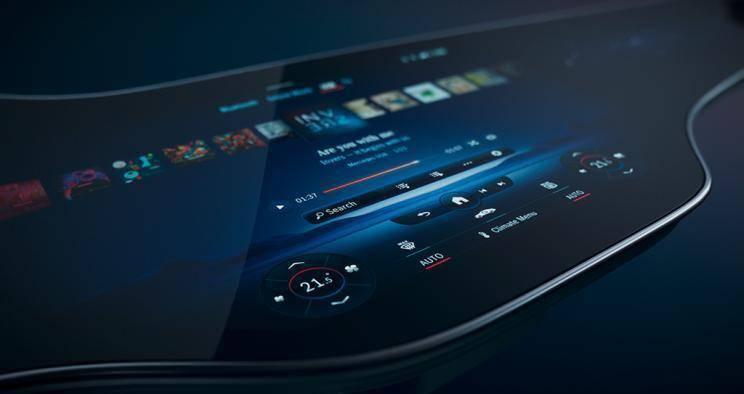 """奔驰推全新MBUX系统:""""一块屏幕搞定一切"""""""