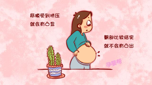 老人说:孕妈肚脐外凸是男孩征兆,是真的么?科学的解释你要知道