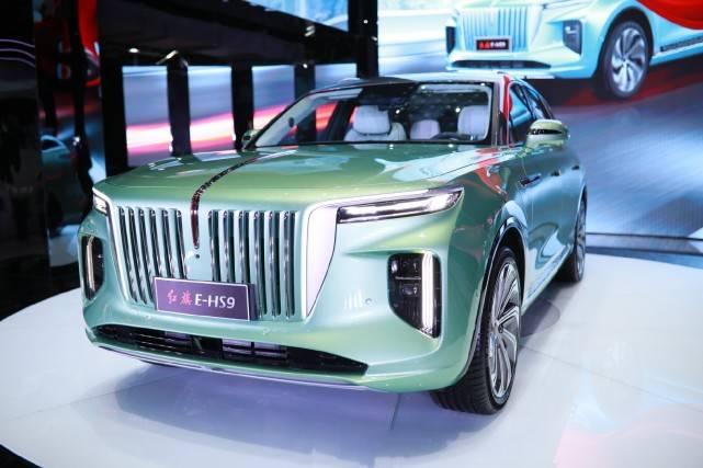 强大气场的纯电动SUV:红旗EHS9