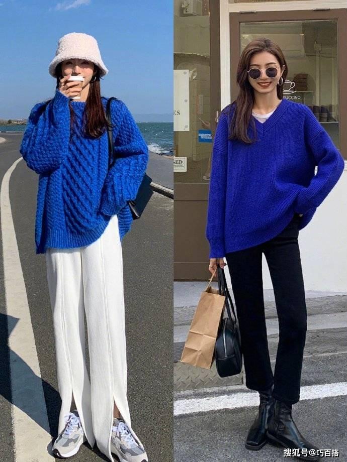 原创             穿毛衣一定要选版型,它真的没有你想象的百搭,不挑款真的会后悔