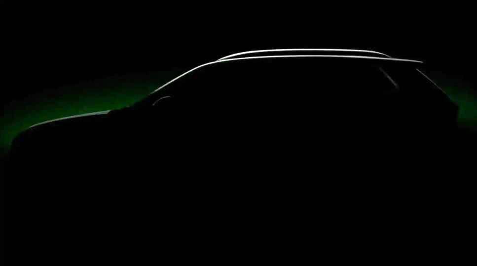 斯柯达小型跨界SUV预告图曝光,车型命名为Kushaq