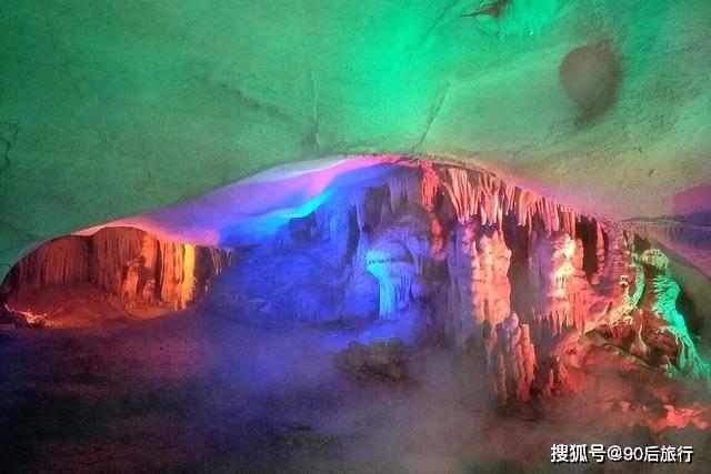 安徽也有蓬莱仙境,占地2多万平方米,7大景点组成,名曰蓬莱仙洞
