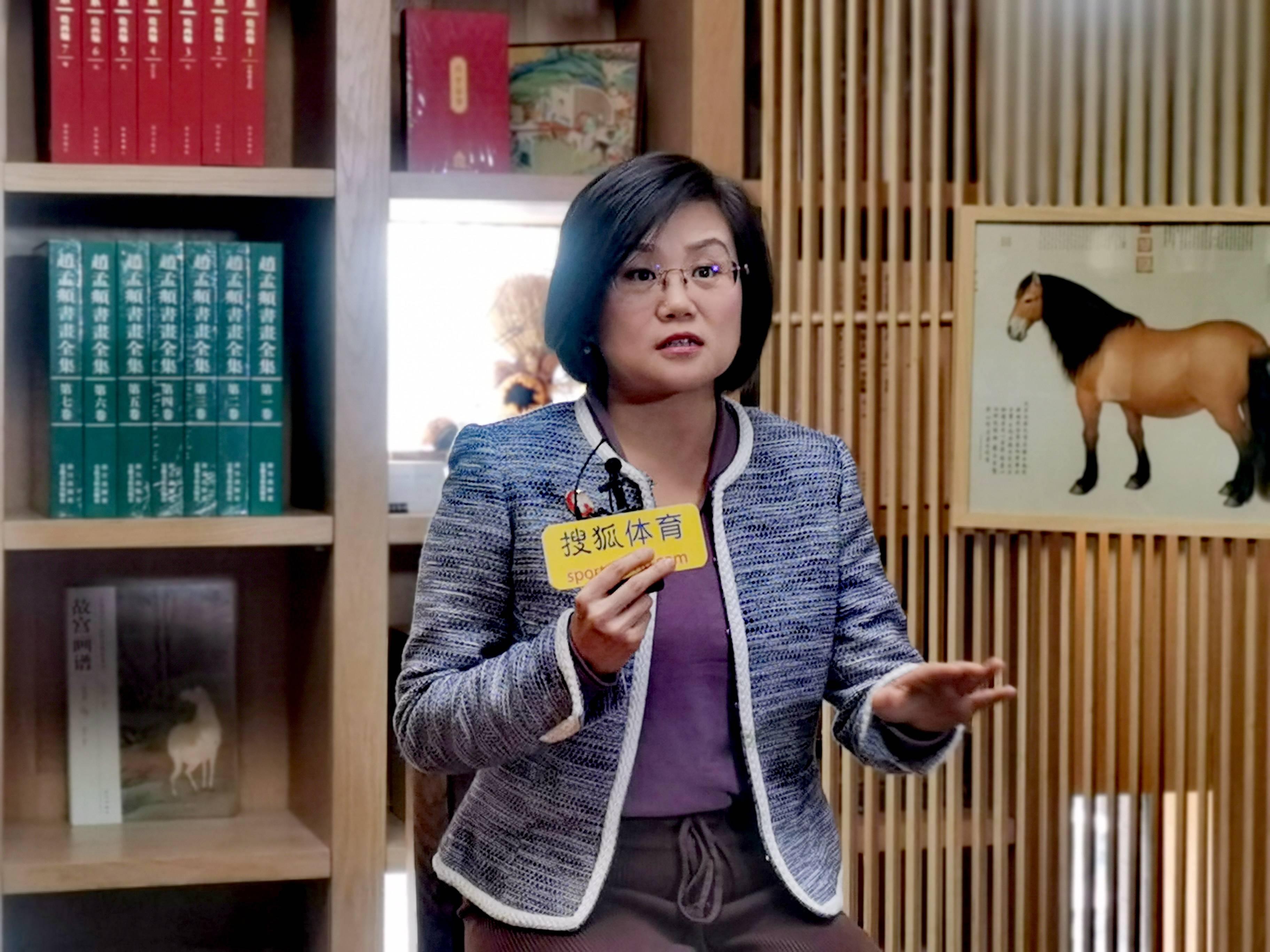 原采访魏紫文化王一和搜狐创建马术频道是大势所趋