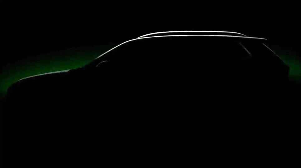 命名为库夏克斯柯达小型跨界SUV预览