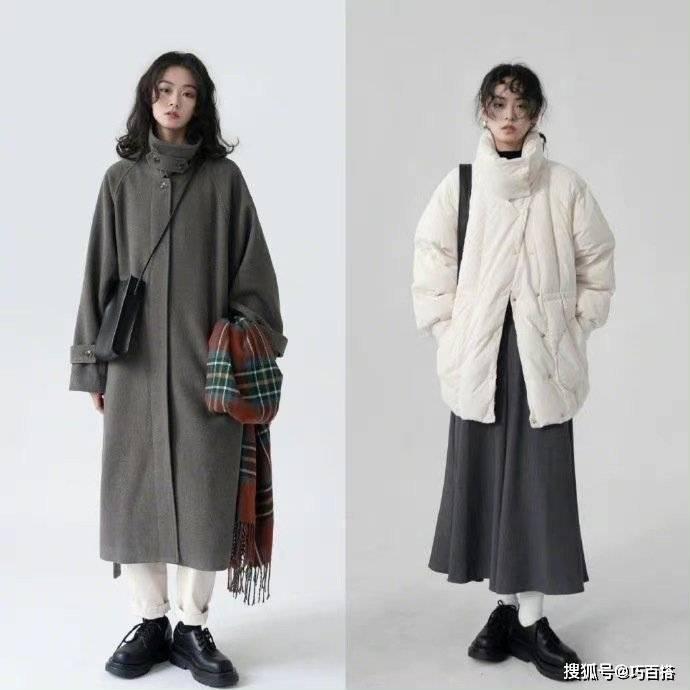 """原创             零度以下穿什么?""""吸睛""""保暖的棉服造型,温度加倍时髦加倍"""