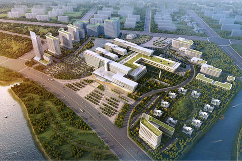 河南知名医院在建新院区,总投资约15亿元,占地约484.5亩
