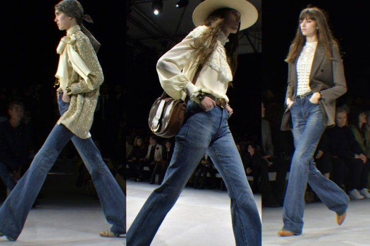 原创             迪丽热巴、朴信惠、Lisa都选宽管牛仔裤过冬,藏肉又保暖,看起来腿变长了