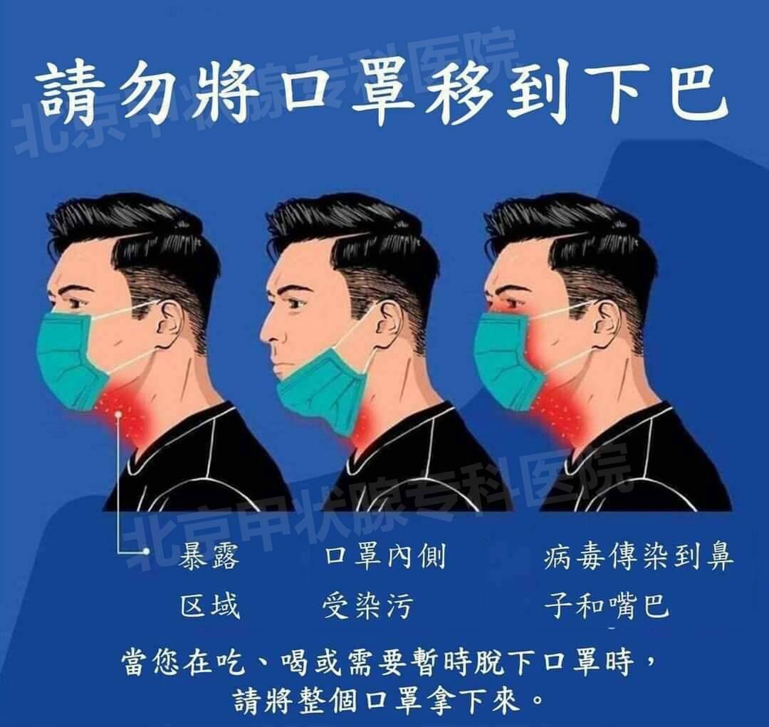 口罩拉到下巴处会增加传染风险 口罩戴到下巴都有哪些危害