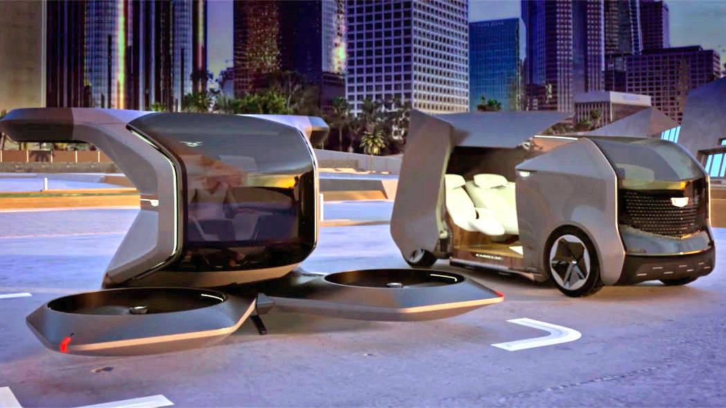 最初的未来豪华交通,凯迪拉克发布了两个新概念模型