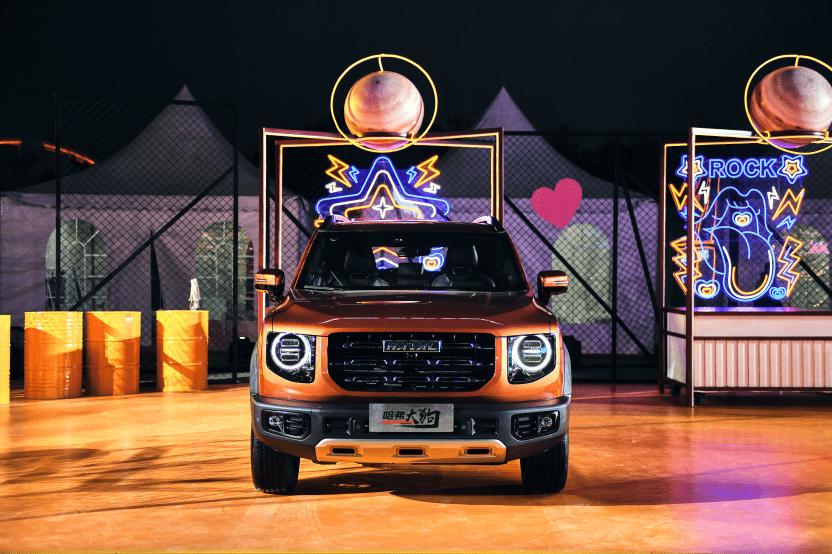 哈弗大狗2.0T四驱版售价15.59万元,动力强劲+2把锁号称中华田园犬_车型