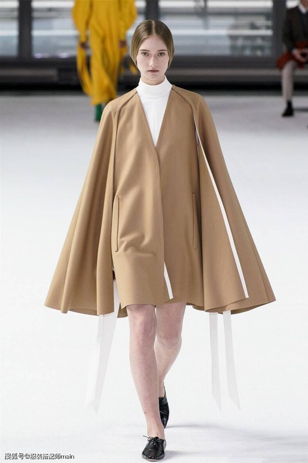 原创             斗篷大衣太好穿了!包容性强又遮肉显瘦,还不挑人
