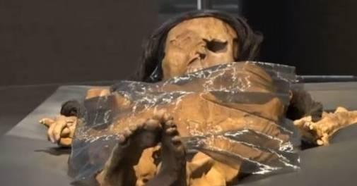 """南美洲女木乃伊1700年后再度""""复活"""" 美貌惊艳世人  第2张"""