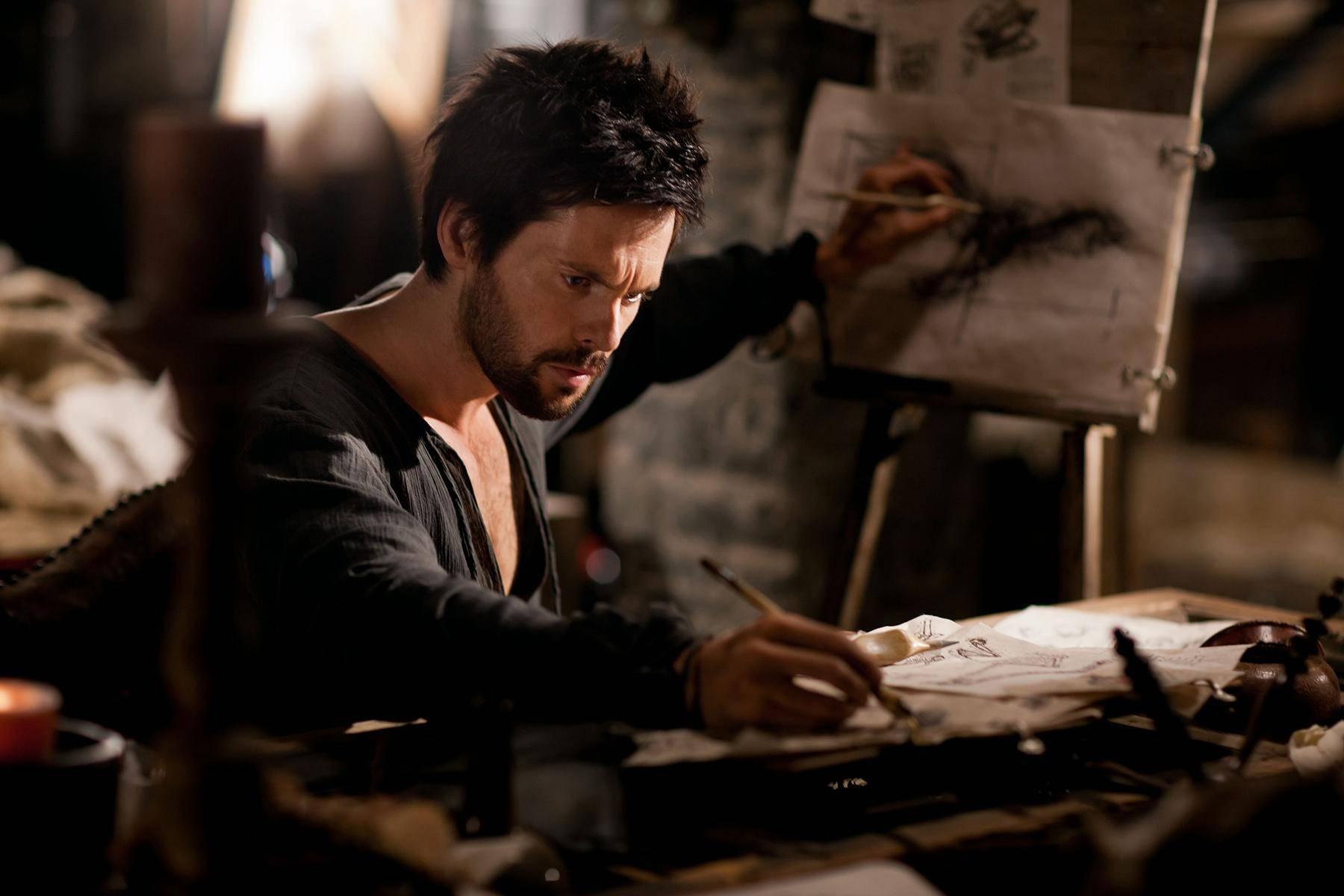 达·芬奇是位大画家,他画了一幅油画,可是却出现了一个失误
