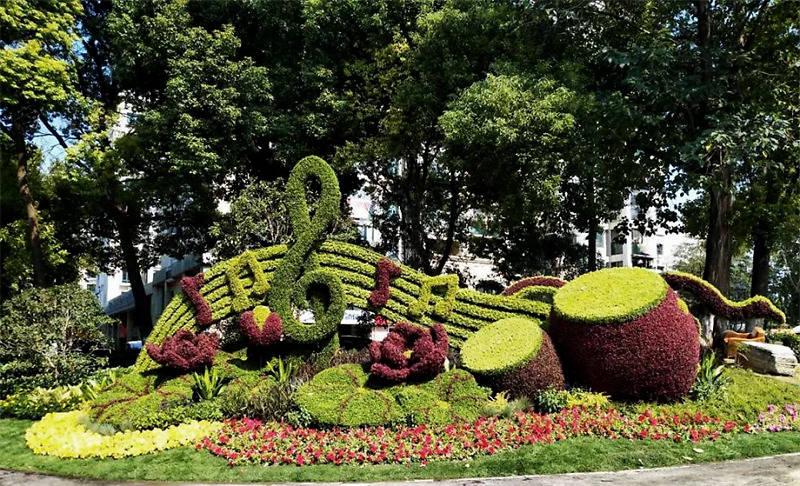 人造植物墙_成都植物墙_绿化墙植物墙
