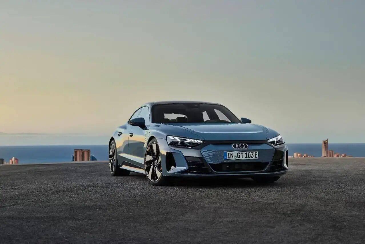 奥迪首款纯电GT跑车奥迪e-tron正式发布