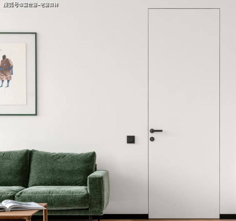 「BOB真人  宅居森林」100㎡简约小公寓,几何感带来的灵动(图3)