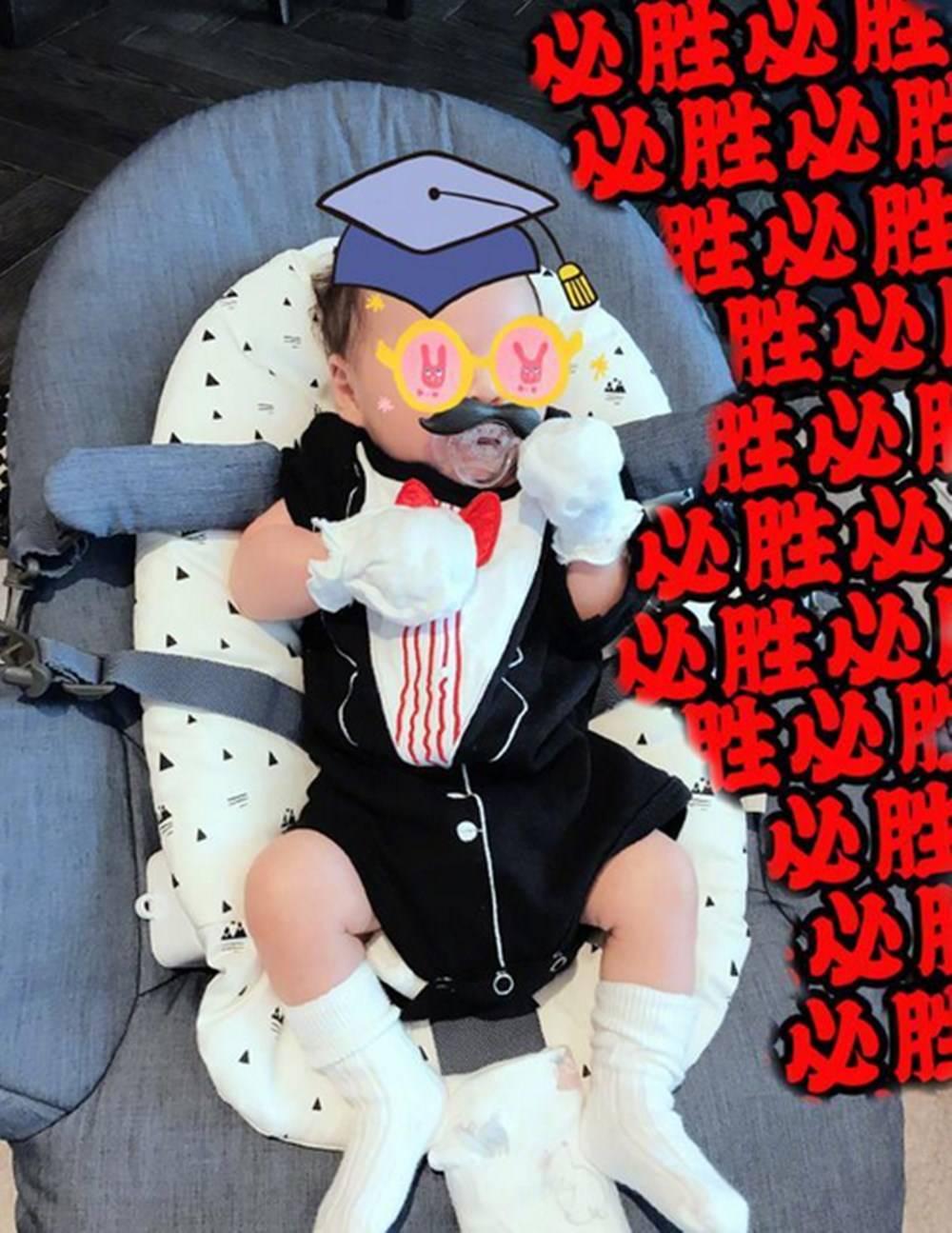 吴奇隆刘诗诗带儿子逛超市,一家三口罕同框,夫妻恩爱教子有方