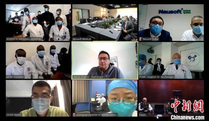 """东软医疗用科技战""""疫""""促进中肯抗疫交流合作"""