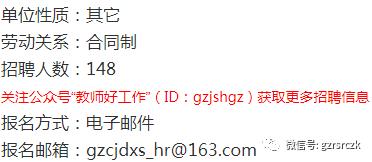 贵州财经大学商务学院2020年招聘148名工作人员(报名时间:5月28日至8月30日)