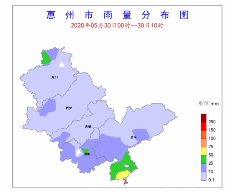 注意防御!惠州多个县区发布暴雨黄色预警信号,预计今明降雨频繁