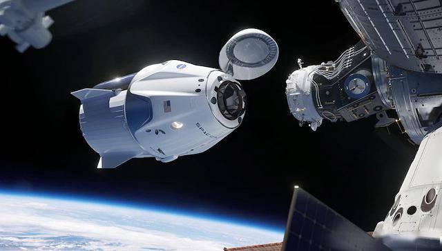 成功对接空间站!宇航员:SpaceX太空舱表现出色