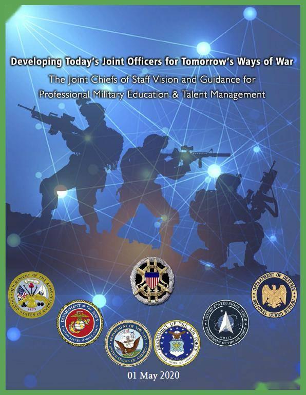 【军事观点】八上将联合签文:培养今日之联合军