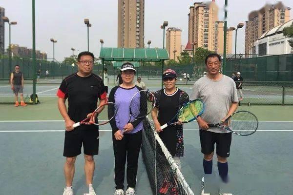 大丰区网球协会举办团体友谊赛