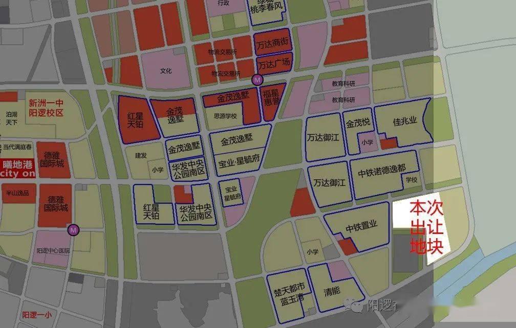 阳逻开发区规划图2020