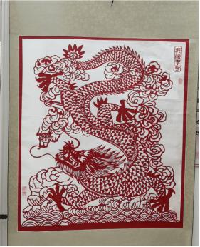 水南画眉站开设特色主题剪纸系列作品展图片