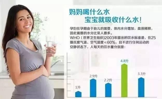 『污染』决定未来孩子的健康状况…,怀孕妈妈喝的水