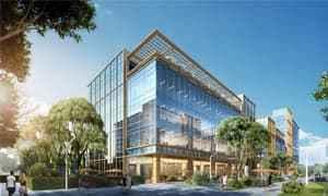 金地EOD总部港接待中心照明设计