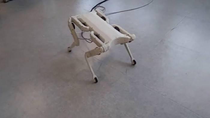 纽约大学研发四足机器人:打造成本变更低且对外开源