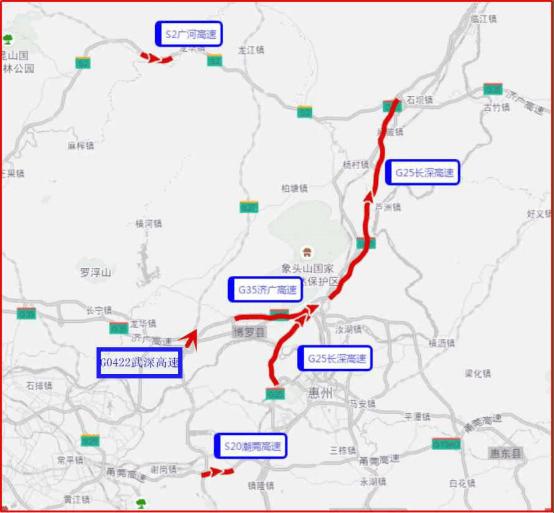 惠州发布端午避堵指南:高速路不免费,预计出行高峰明天到来