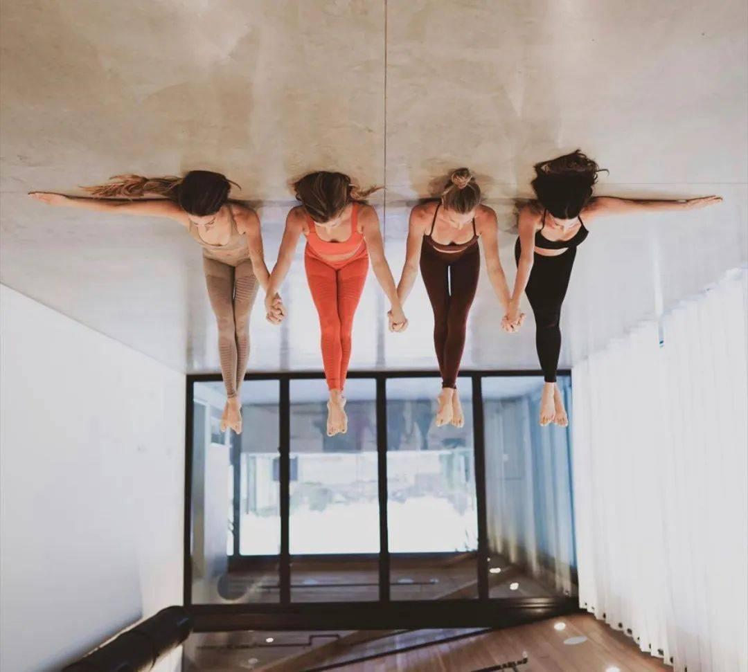 不知道双人瑜伽照怎么拍?收藏这篇文章就够啦! 减肥窍门 第15张