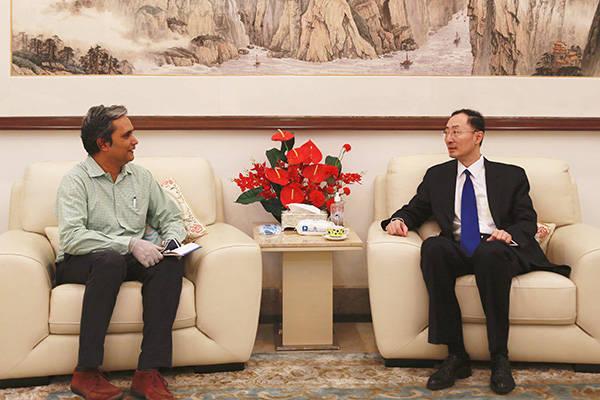 驻印大使孙卫东:加勒万河谷事件由印方挑起,印方越线在先