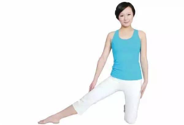 瑜伽体式,伸展肋间肌的门闩式 减肥窍门 第3张