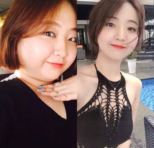 从156斤减到90斤,她用一年经历告诉我们:每个胖子瘦下来都是潜力股!_Hyun 高级健身 第2张