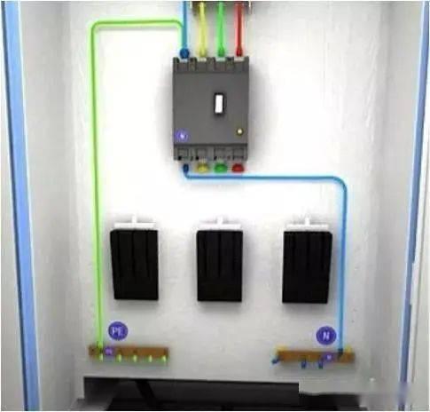 从变压器到配电箱!临时电力线接线配电