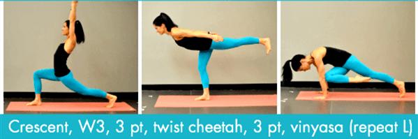 经络不通代谢慢?这套流瑜伽序列舒展全身,越练越年轻! 减肥窍门 第6张