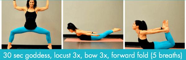 经络不通代谢慢?这套流瑜伽序列舒展全身,越练越年轻! 减肥窍门 第8张
