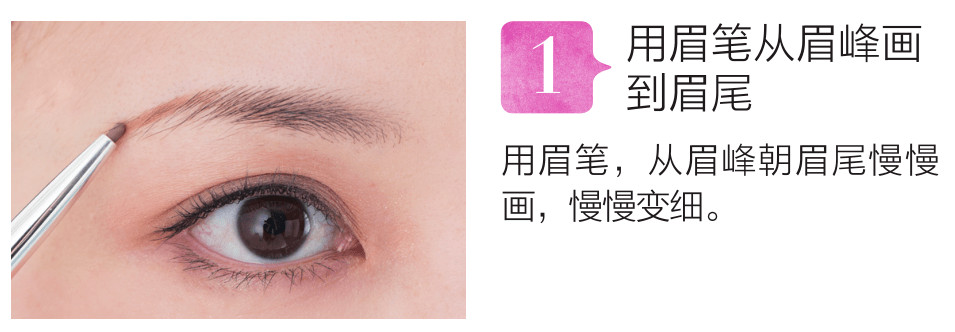金晨用假眉贴是种怎样的体验?减龄5岁的眉毛这样拥有!  span class=