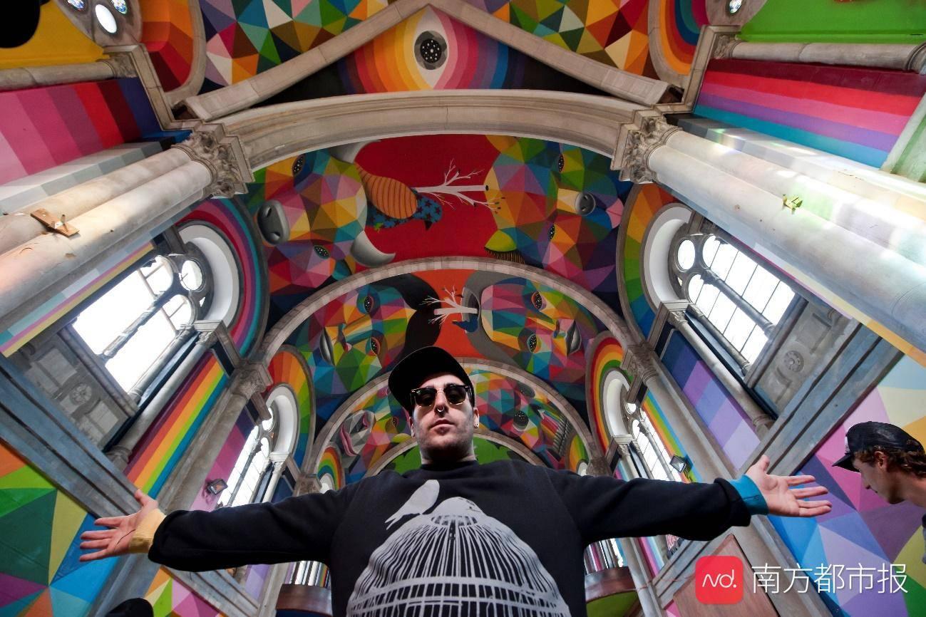 广州K11开启色彩几何之旅,走进西班牙艺术家迷人的万花筒隧道