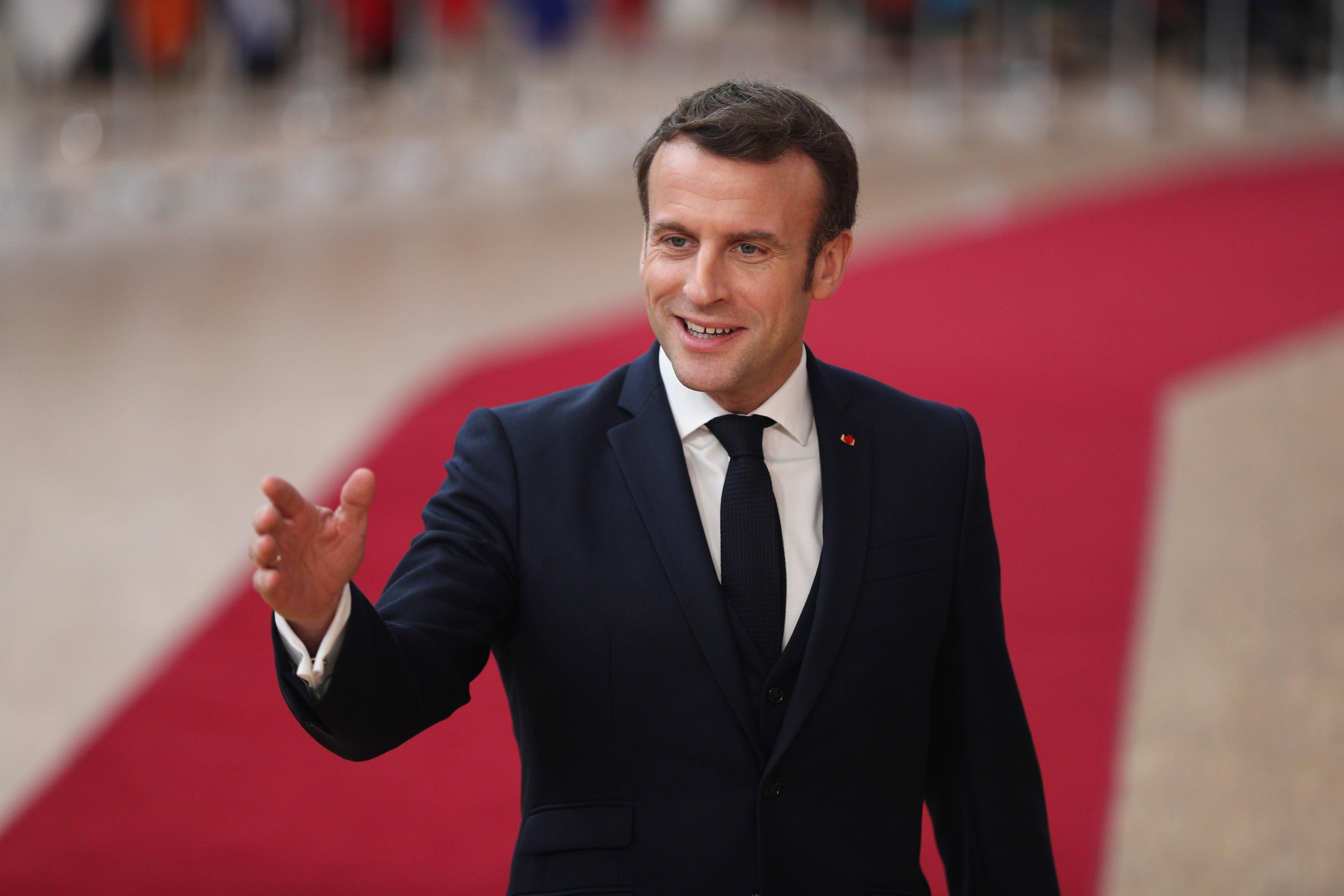 国际奥委会 国际奥委会主席巴赫与法国总统马克龙商谈简化2024年巴黎奥运会