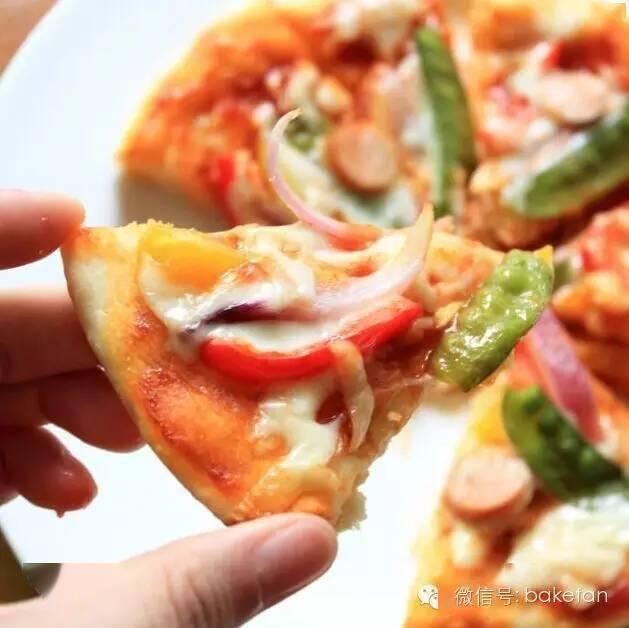『披萨』温暖你的胃,自制电饭煲披萨,健康卫生