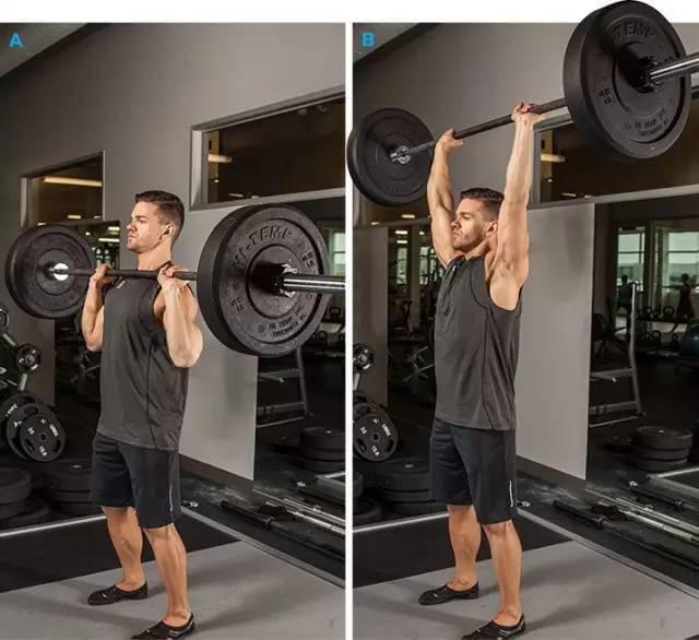 身体各部位最佳健身动作,你做过几个?
