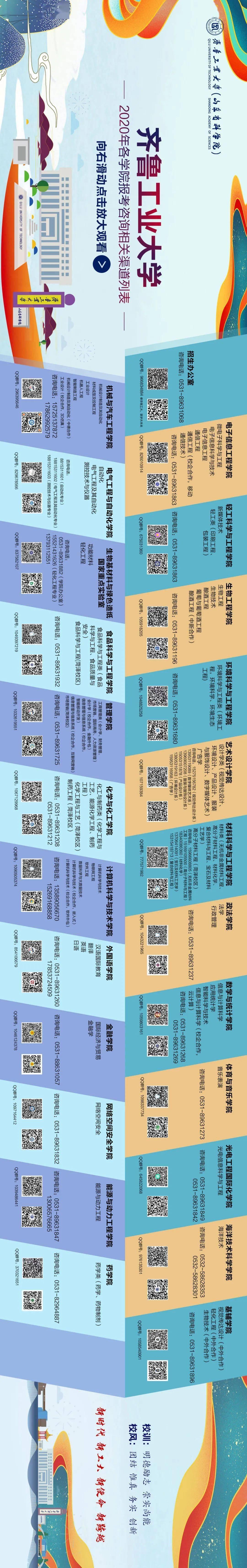 @高考生,报考齐鲁工业大学官方咨询平台发布!