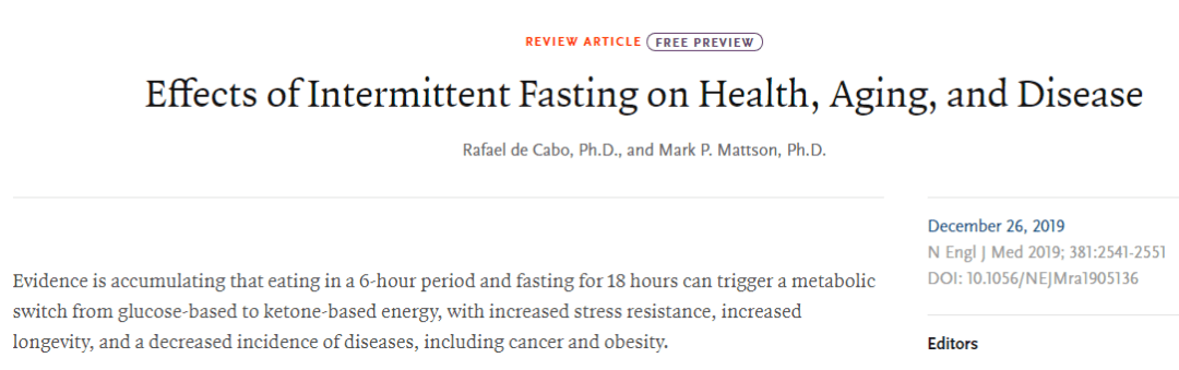 "Nature:""饿""死癌细胞!这种饮食方式不仅帮助减肥,还有助于抗癌"