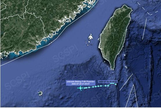 高频度挑衅!美军1天内向南海出动5架4型军机